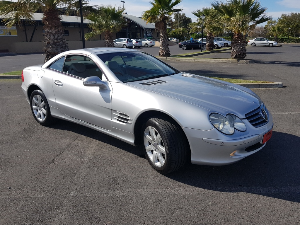 2003 MERCEDES BENZ SL500 CONVERTIBLE ROADSTER G TRONIC SL500  CONVERTIBLE